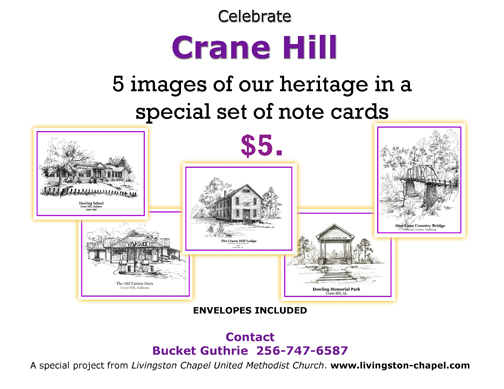 Crane Hill Notecards