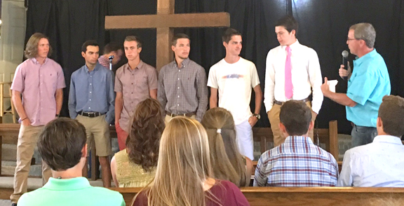 2017 High School Graduates from Livingston Chapel, Crane Hill, AL