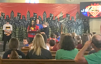 Super Hero Youth for Jesus
